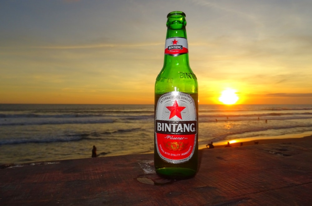 Bintang, Echo Beach, Bali