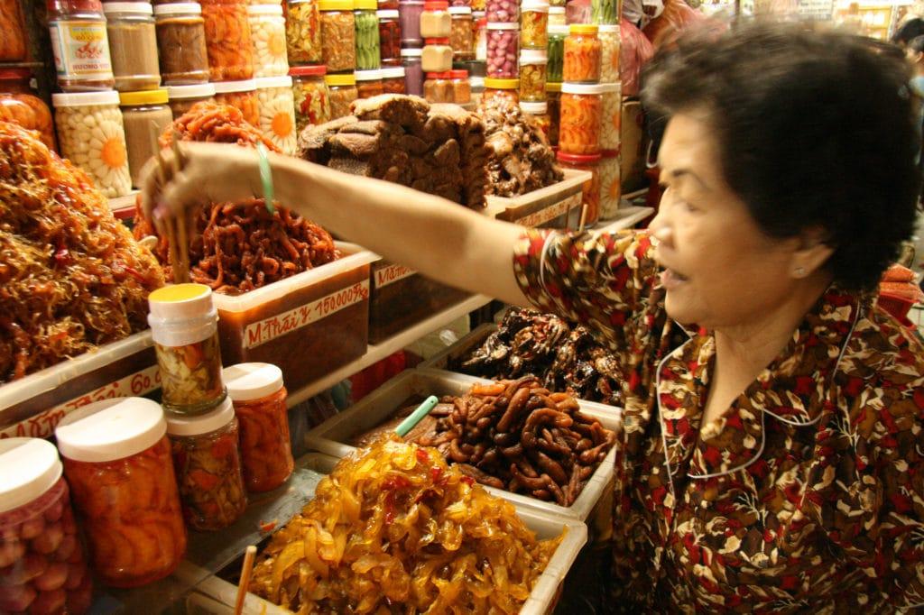 Ho Chi Minh Markt