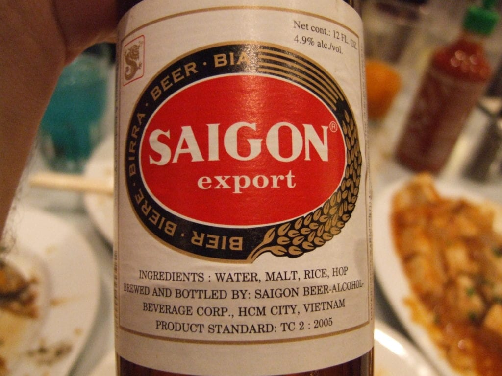 Bier, Ho Chi Minh
