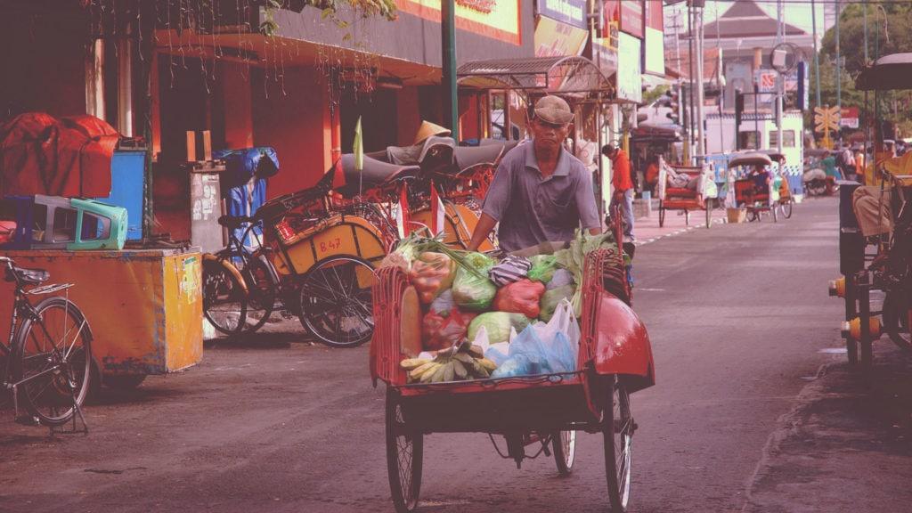 Malioboro street, Yogjakarta