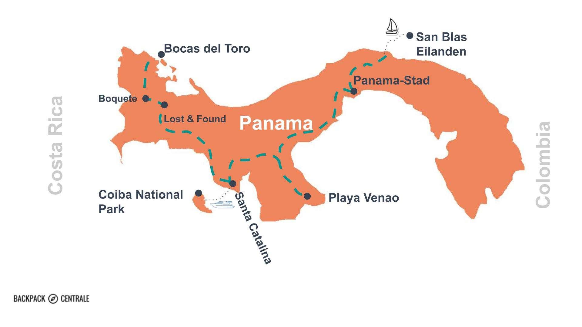 Panama Route