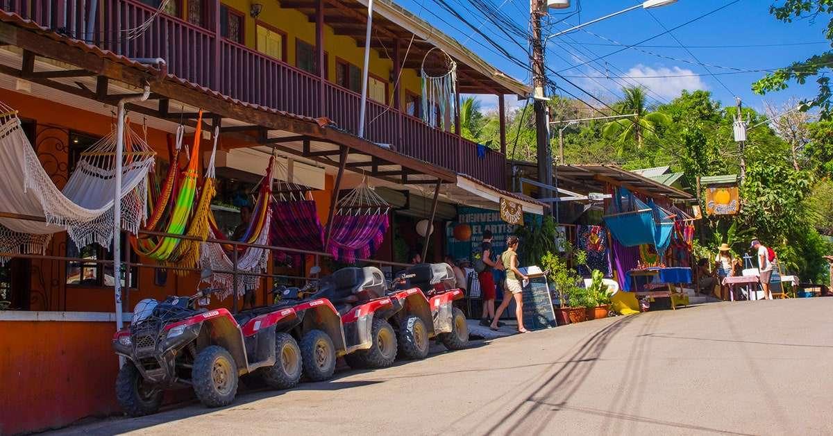 Montezuma dorpje