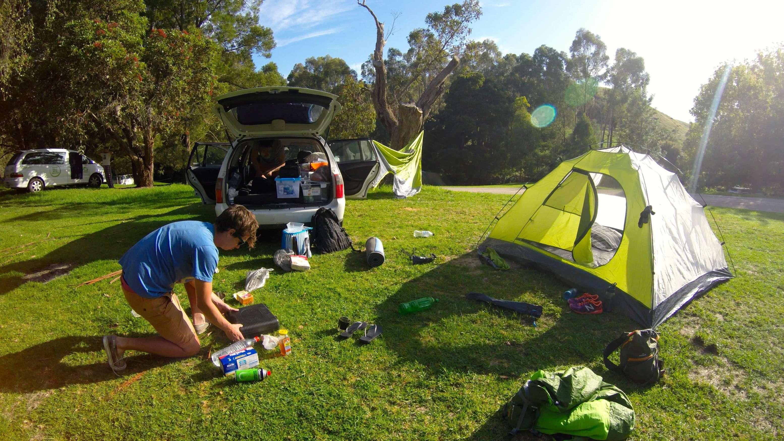 kamperen in australie