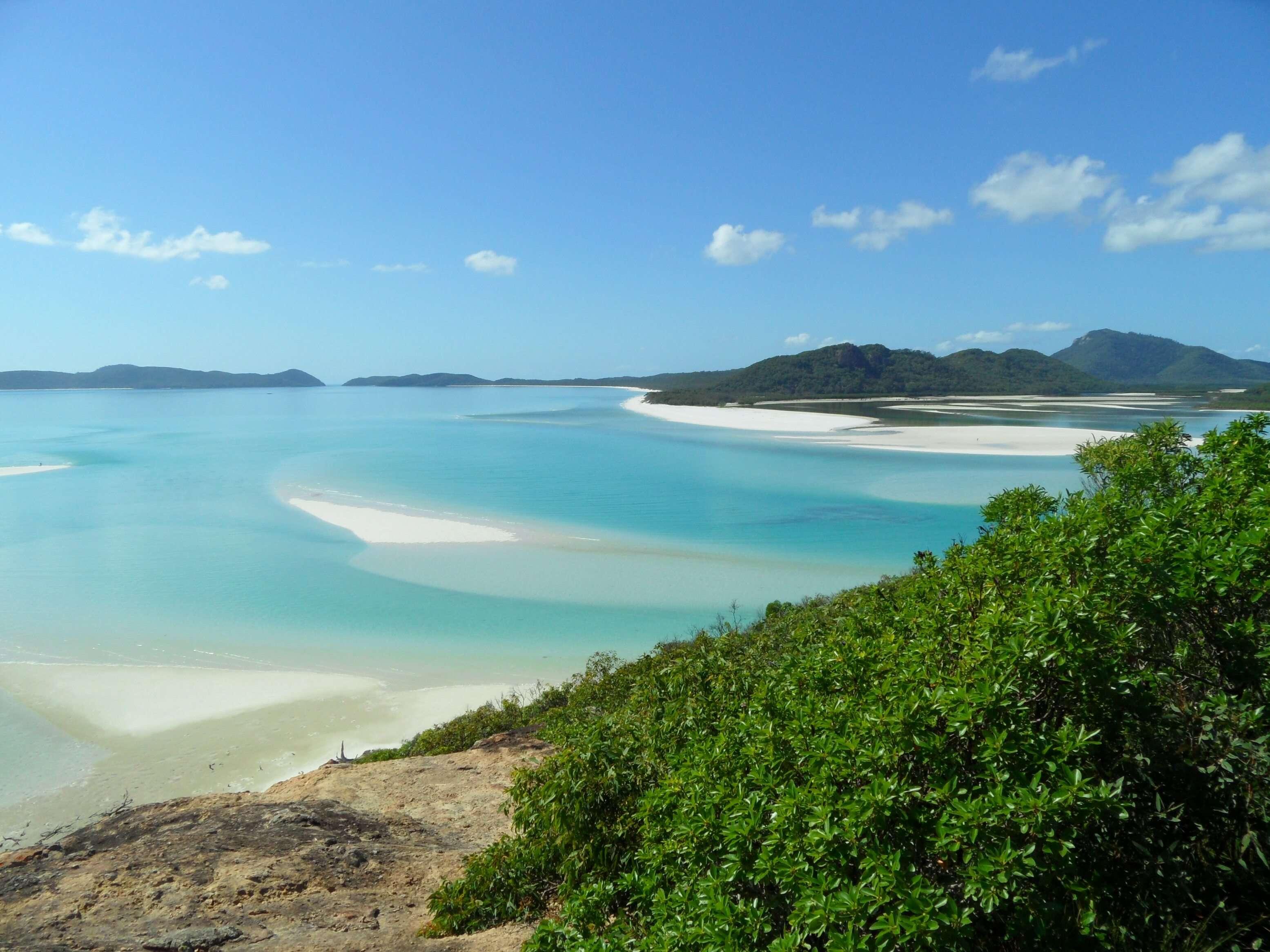 Whitsundays, backpacken australië